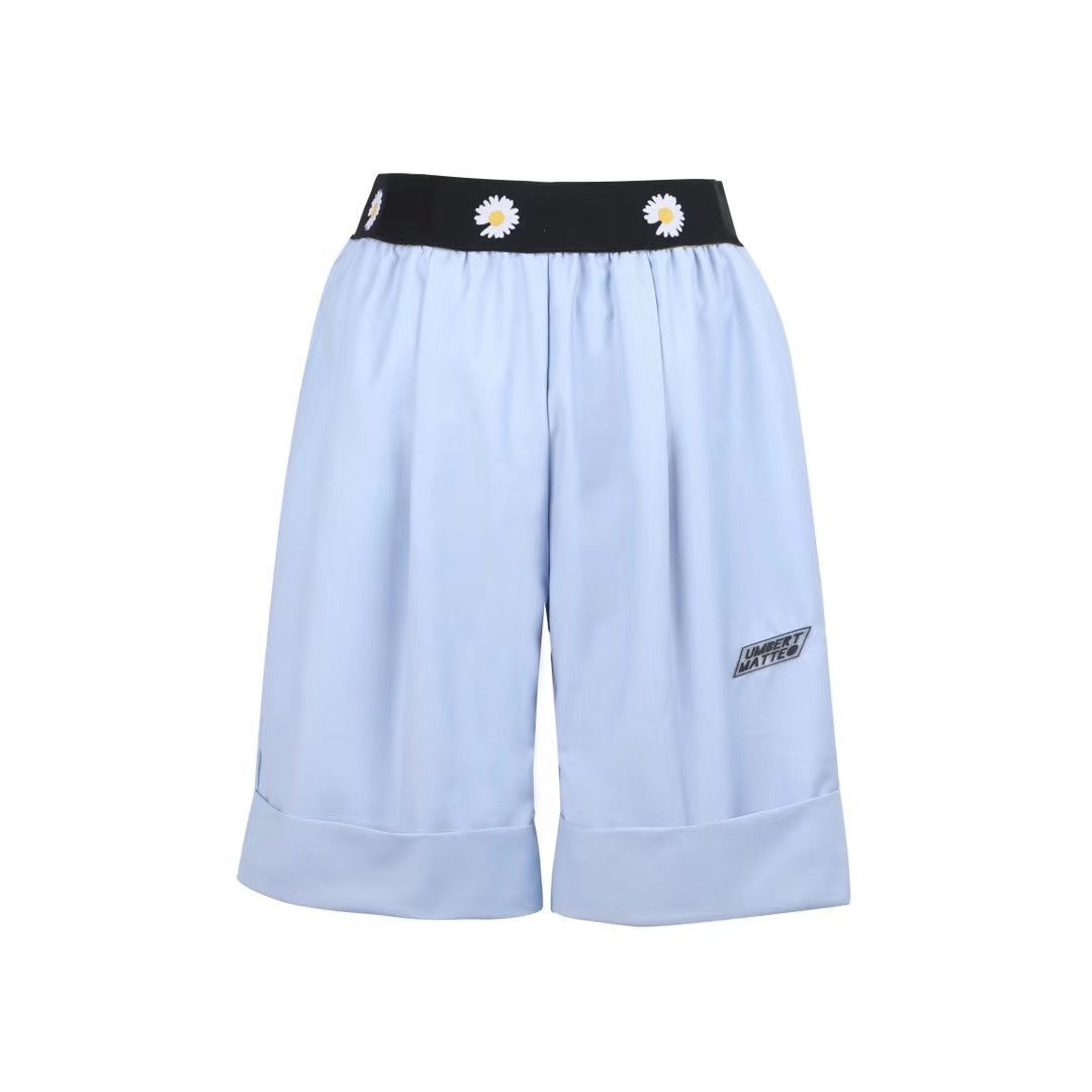 UMBERT MATTEO Daisy Shorts Blue | MADA IN CHINA