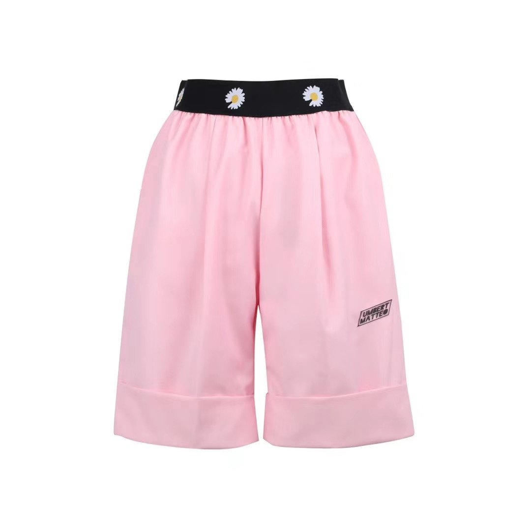 UMBERT MATTEO Daisy Shorts Pink | MADA IN CHINA