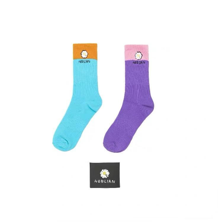 HERLIAN Daisy Socks (Two Pairs) | MADA IN CHINA