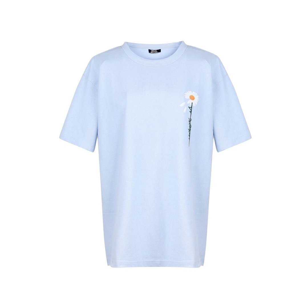 UMBERT MATTEO Daisy Tee Blue | MADA IN CHINA
