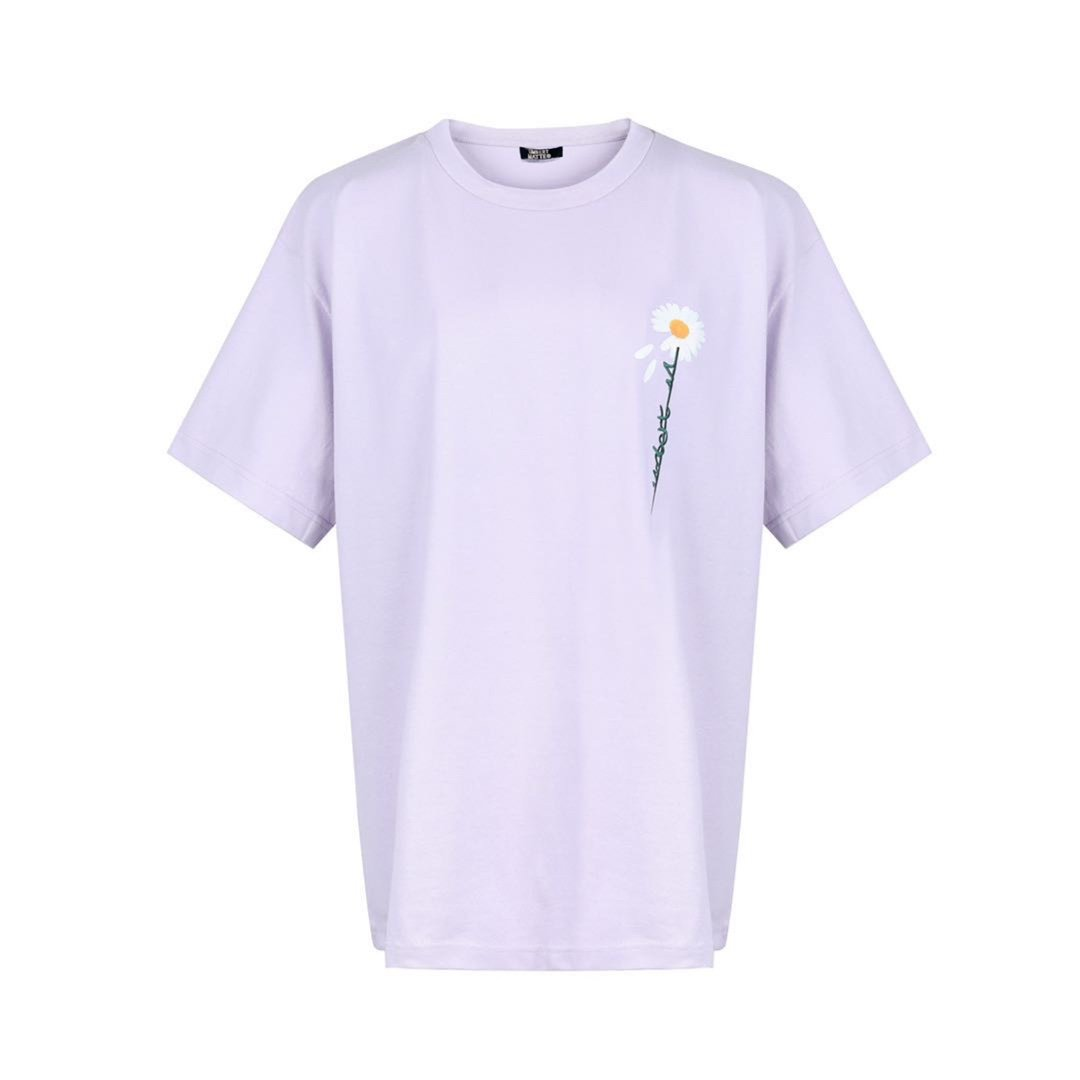 UMBERT MATTEO Daisy Tee Purple | MADA IN CHINA