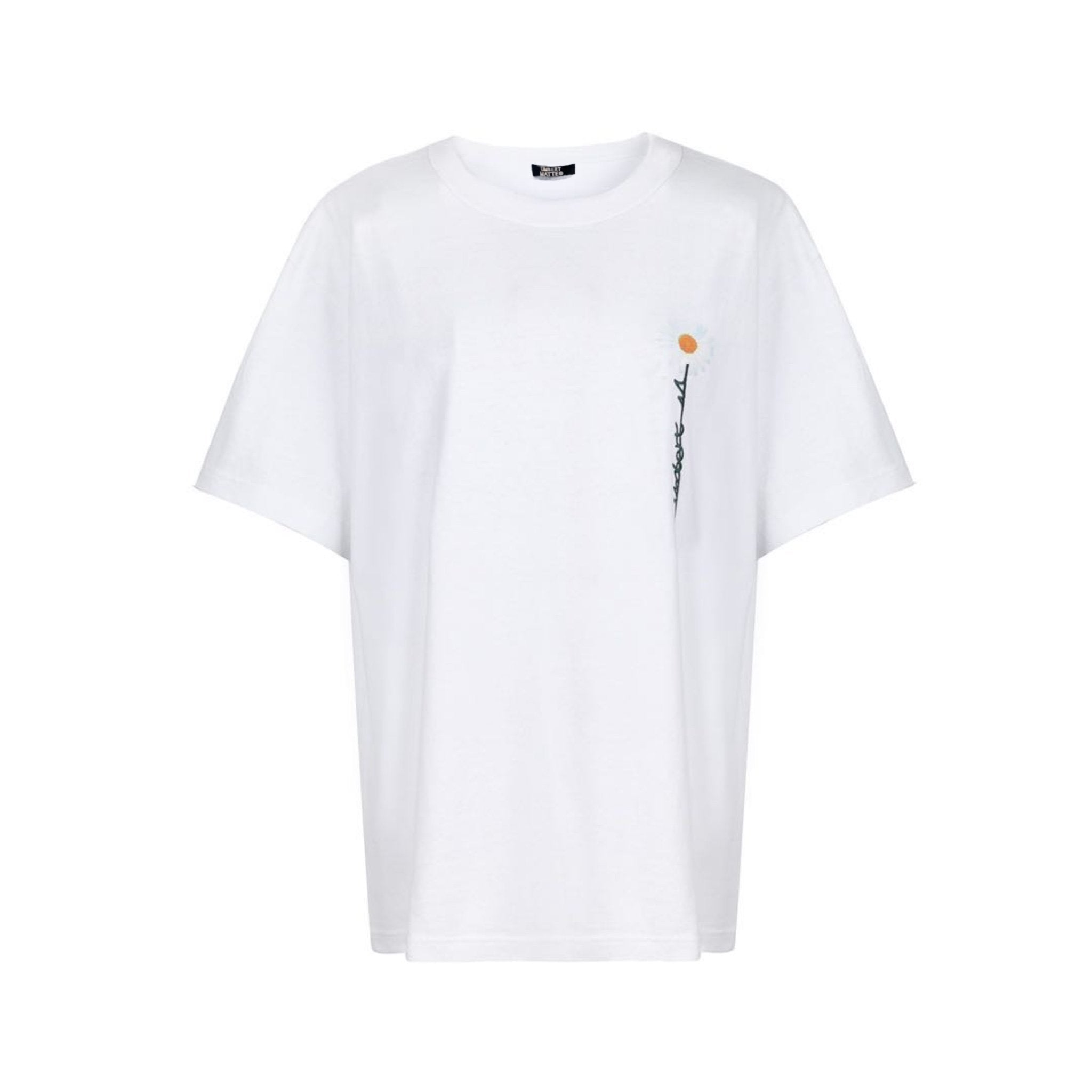 UMBERT MATTEO Daisy Tee White | MADA IN CHINA