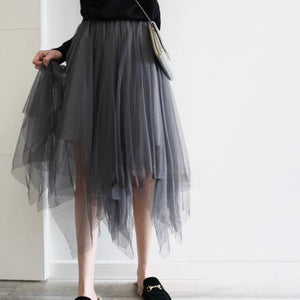 SOMEOTHERS Double Layer Veil Dress | MADA IN CHINA
