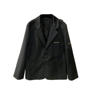 ONOFFON Embroidered Logo Blazer Jacket | MADA IN CHINA