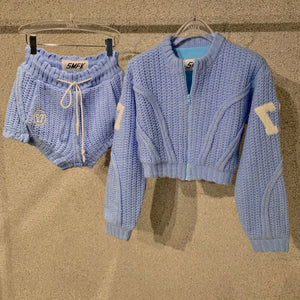 SMFK Fairy Jacket Sky Blue | MADA IN CHINA