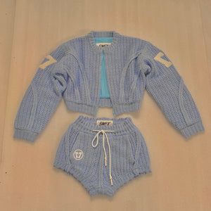 SMFK Fairy Shorts Sky Blue | MADA IN CHINA