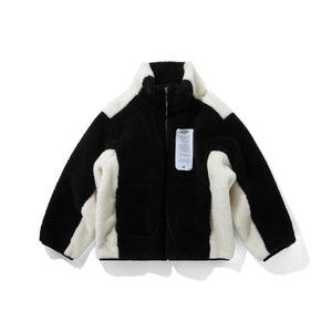 AIN'T SHY Fleece Jacket Ink | MADA IN CHINA