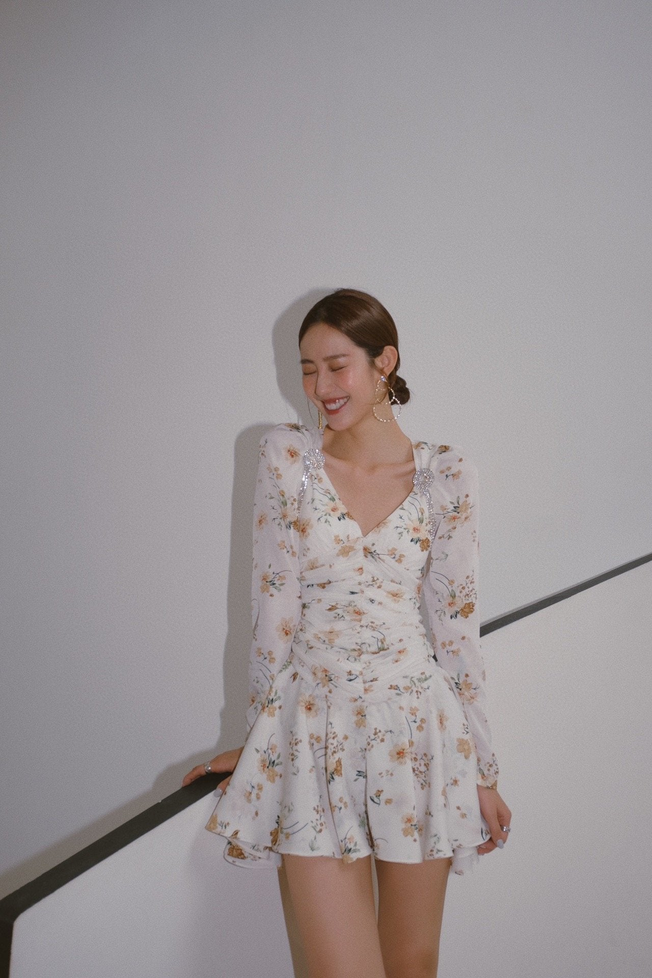 MASION.W Floral Dress | MADA IN CHINA