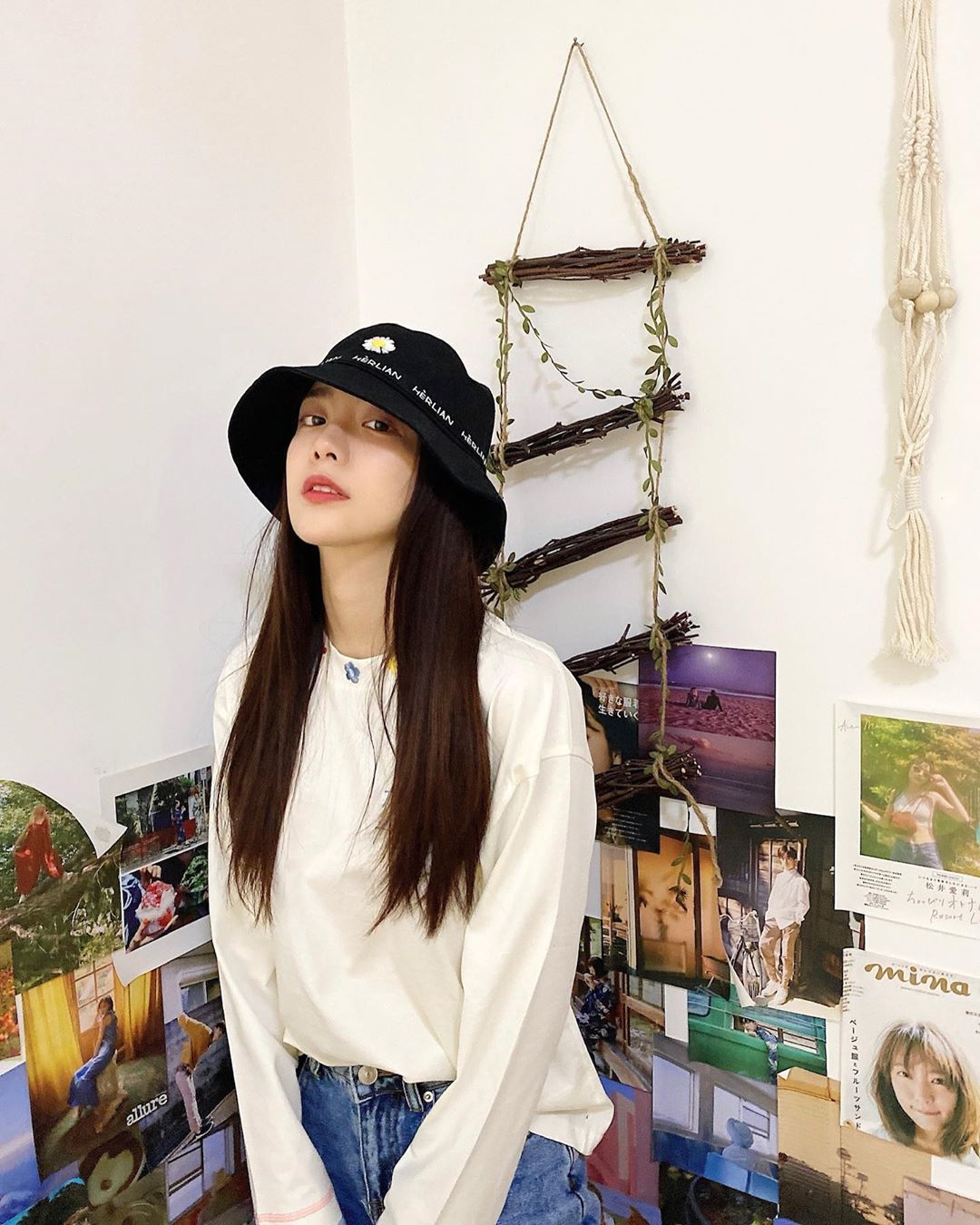 HERLIAN Flower Bucket Hat | MADA IN CHINA