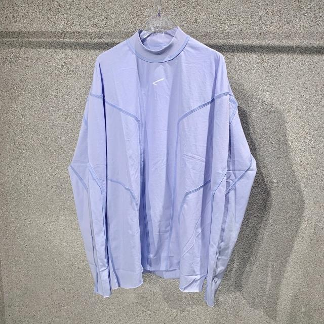 "SMFK ""FOURTRY"" Purple Long-Sleeve Tee 