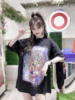 13 DE MARZO Game Of Thrones Sailor Moon Tee | MADA IN CHINA