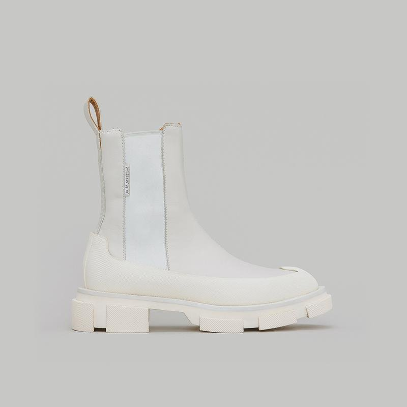 Both Gao Chelsea Boots White | MADA IN CHINA