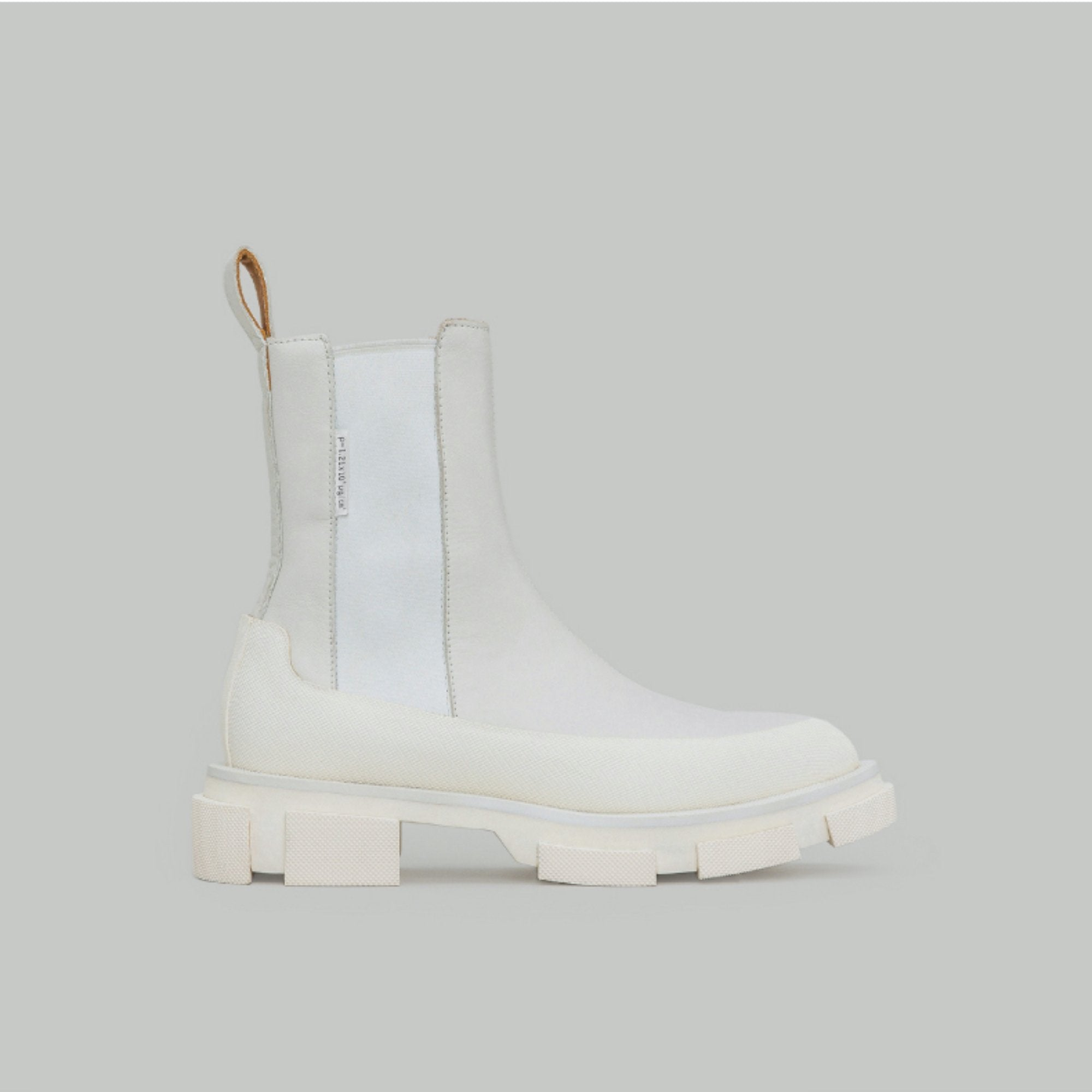 Both Gao White Chelsea Boots | MADA IN CHINA