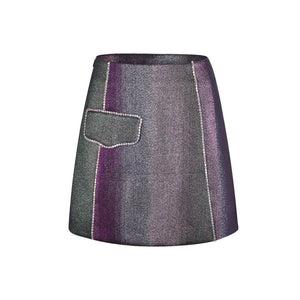 THREE QUARTERS Gradient Skirt | MADA IN CHINA