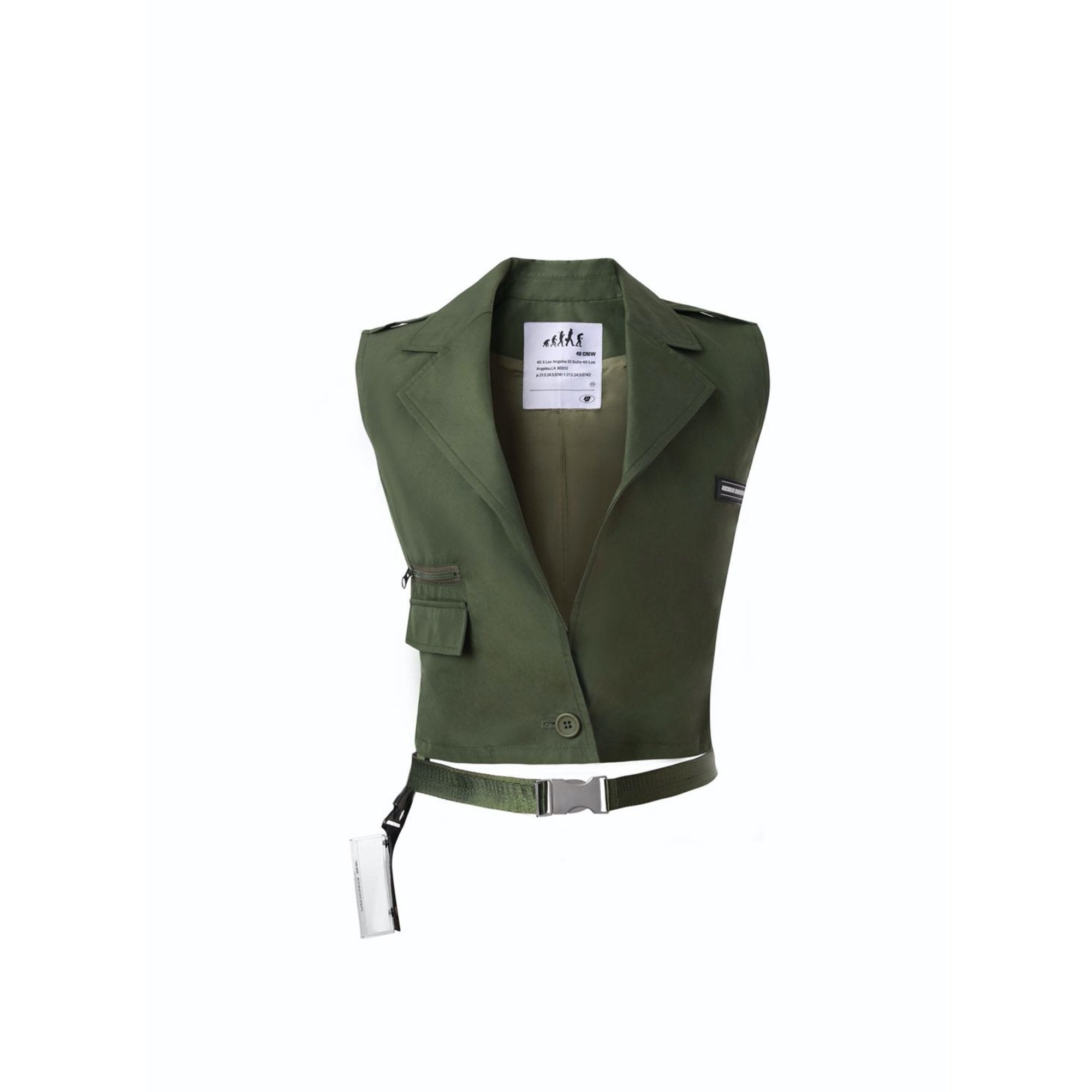 40 CREW Green Lipstick Box Tactical Vest | MADA IN CHINA