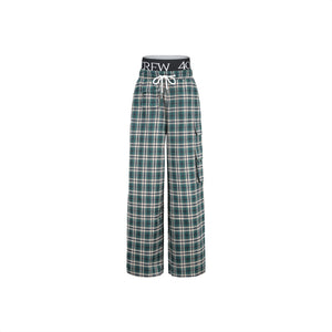 40 CREW Green Plaid Pants | MADA IN CHINA