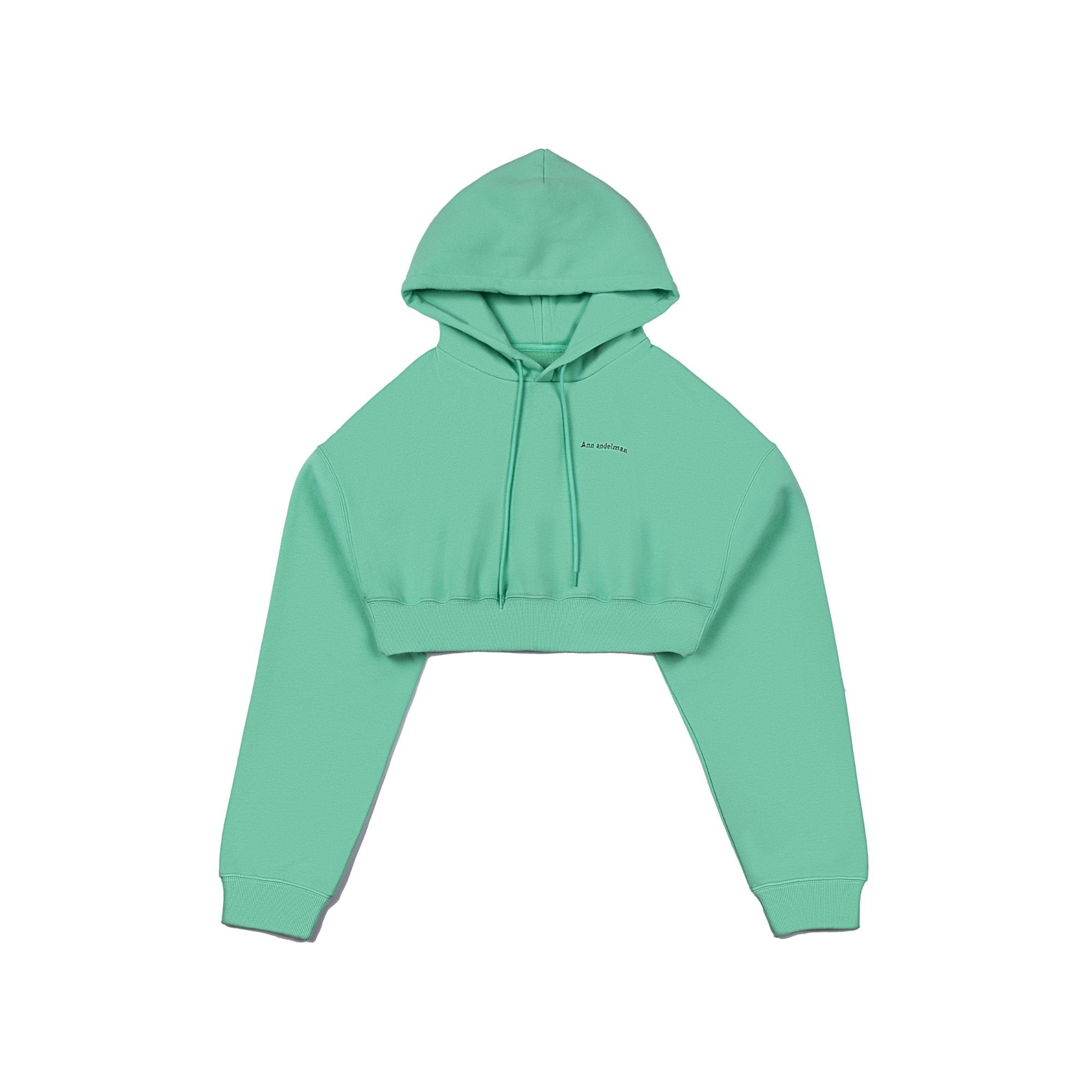 ANN ANDELMAN Green Sport Hoodie | MADA IN CHINA