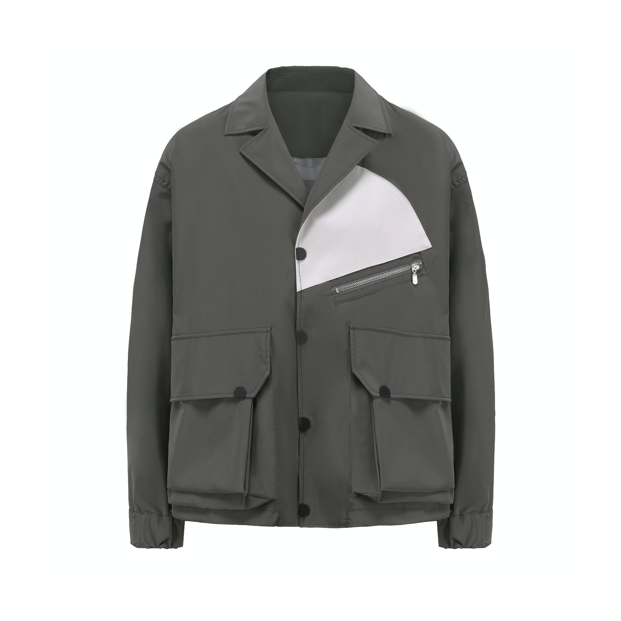 STAFFONLY Grey Functonal Jacket | MADA IN CHINA