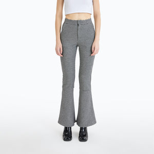 ANN ANDELMAN Grey Houndstooth Trousers | MADA IN CHINA