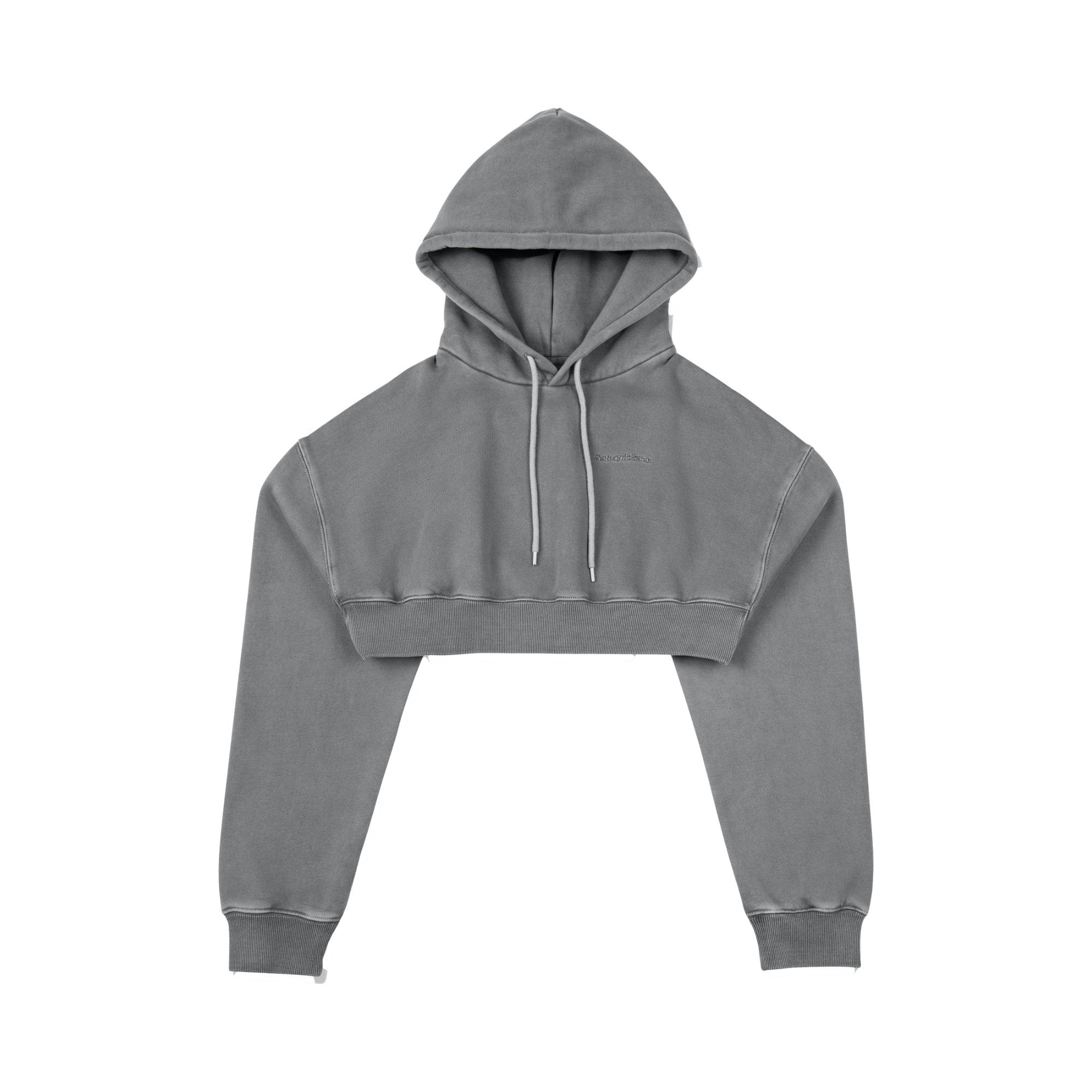ANN ANDELMAN Grey Sport Hoodie | MADA IN CHINA