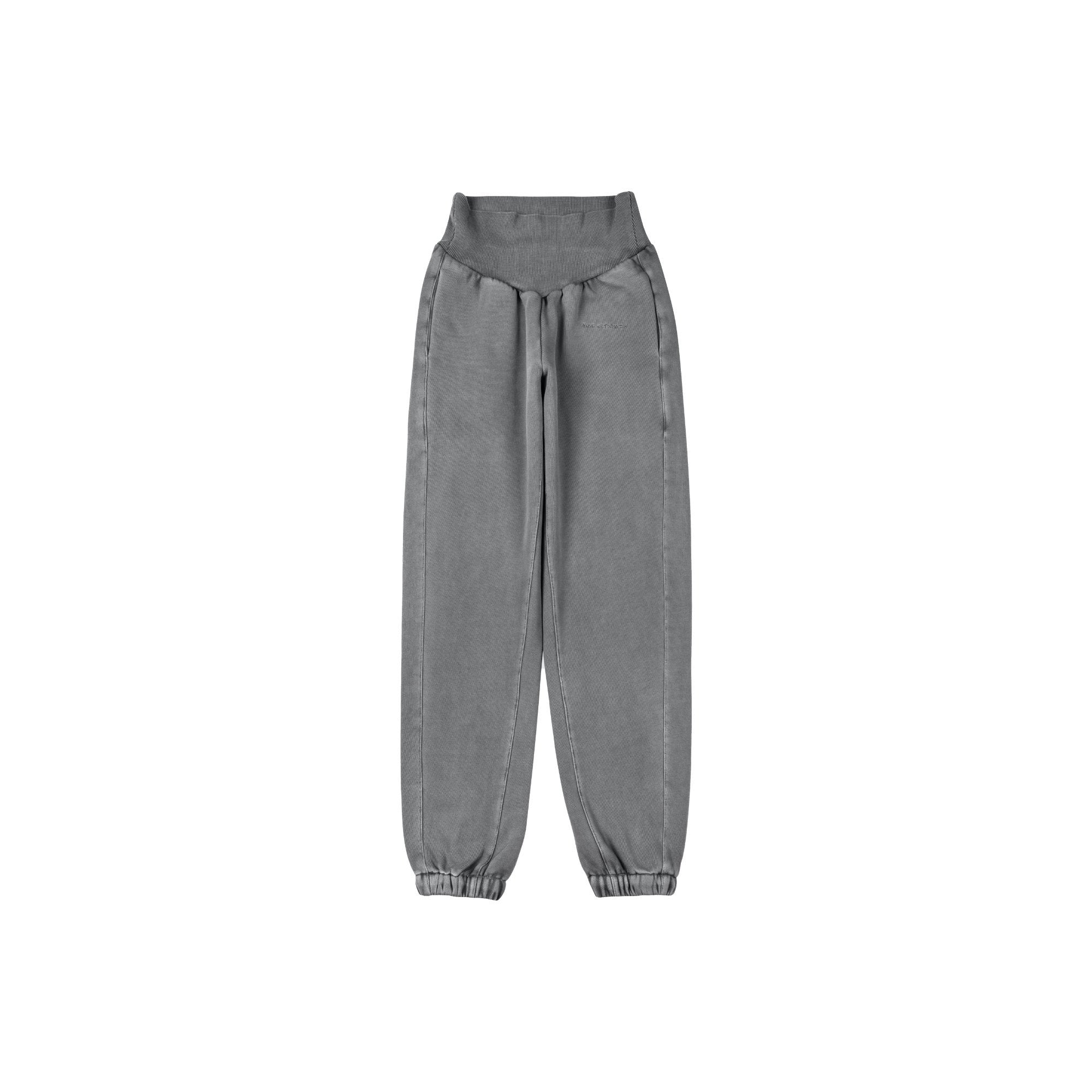 ANN ANDELMAN Grey Sport Pant | MADA IN CHINA