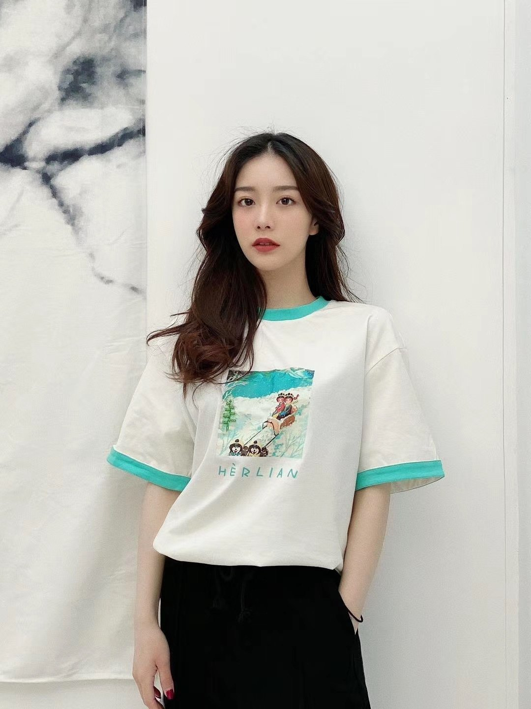 HERLIAN Herlian Seasonal Tee | MADA IN CHINA