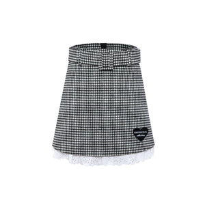 EIMISMOSOL Houndstooth Skirt | MADA IN CHINA