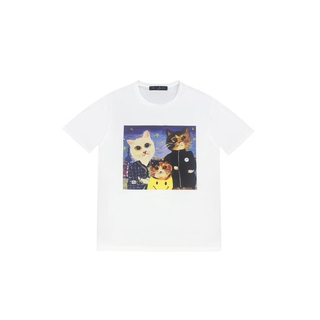 AIMME SPARROW Kitty Memory Tee | MADA IN CHINA