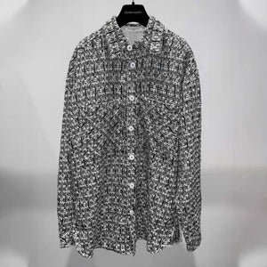 CHARLIE LUCIANO Knitted Shirt | MADA IN CHINA