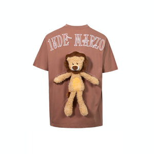 13 DE MARZO Lion Toy T-Shirt Carnelian | MADA IN CHINA