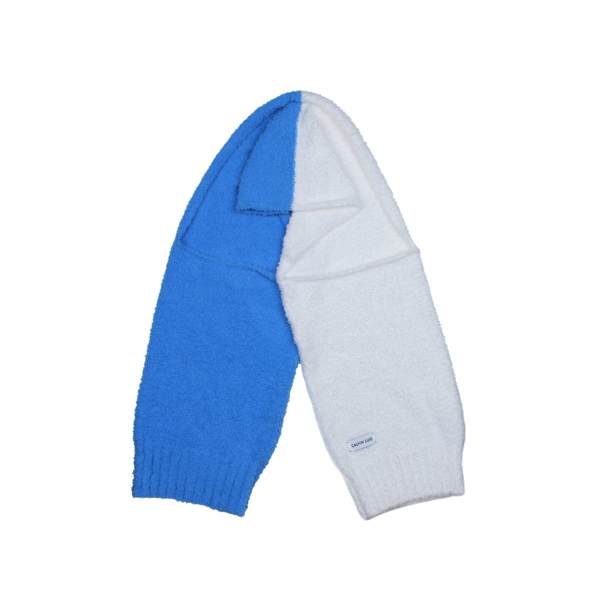 CALVIN LUO Lunar New Year Blue Arm Sleeve Scarf | MADA IN CHINA