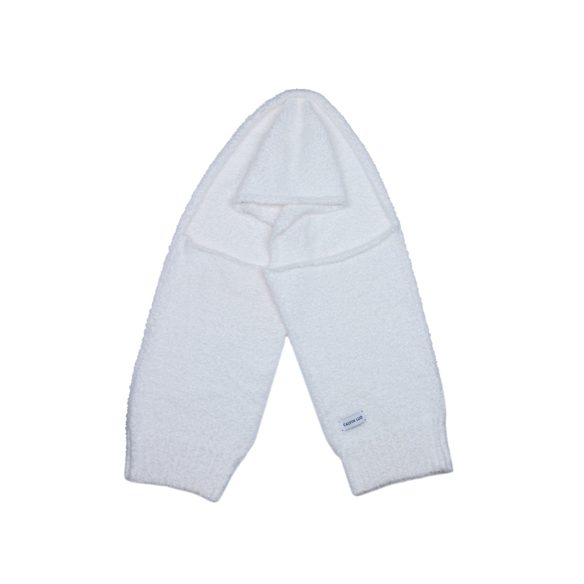 CALVIN LUO Lunar New Year White Arm Sleeve Scarf | MADA IN CHINA