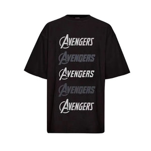 CHARLIE LUCIANO Marvel Avengers Front Logo Tee | MADA IN CHINA