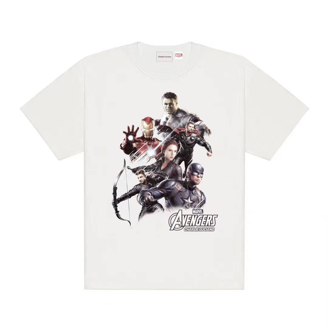 CHARLIE LUCIANO Marvel Avengers Poster Tee | MADA IN CHINA