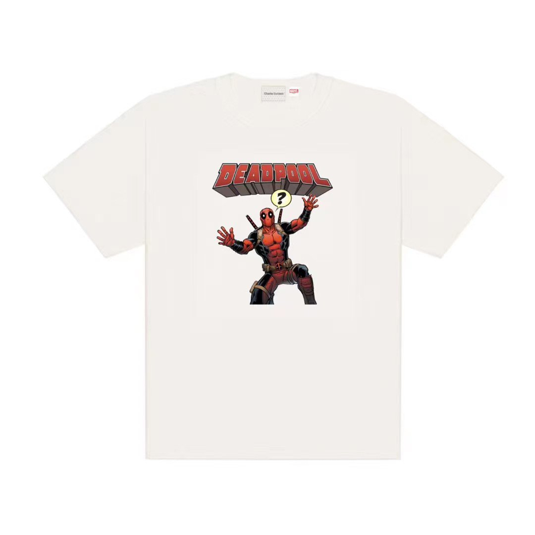 CHARLIE LUCIANO Marvel DeadPool Tee | MADA IN CHINA