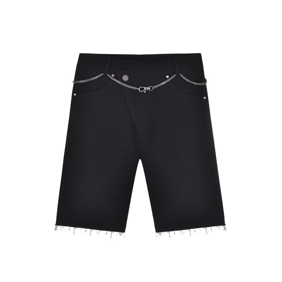 THREE QUARTERS Misplaced Cycling Shorts Black | MADA IN CHINA