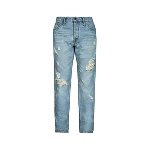 GALLIANO LANDOR Modern Cut-Out Jeans | MADA IN CHINA