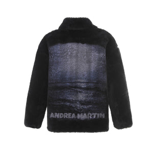 ANDREA MARTIN Moon Wool Jacket Black | MADA IN CHINA