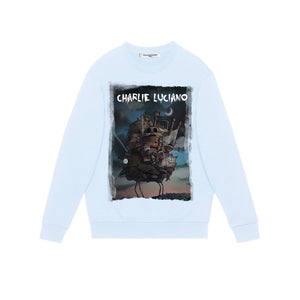 CHARLIE LUCIANO 'Moving Castle' Sweatershirt | MADA IN CHINA