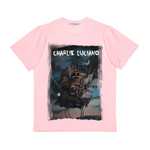 CHARLIE LUCIANO 'Moving Castle' T-shirt | MADA IN CHINA