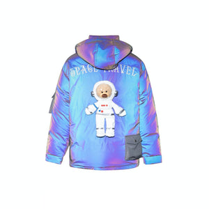 13 DE MARZO NASA Teddy Bear Down Jacket 3M Reflect | MADA IN CHINA