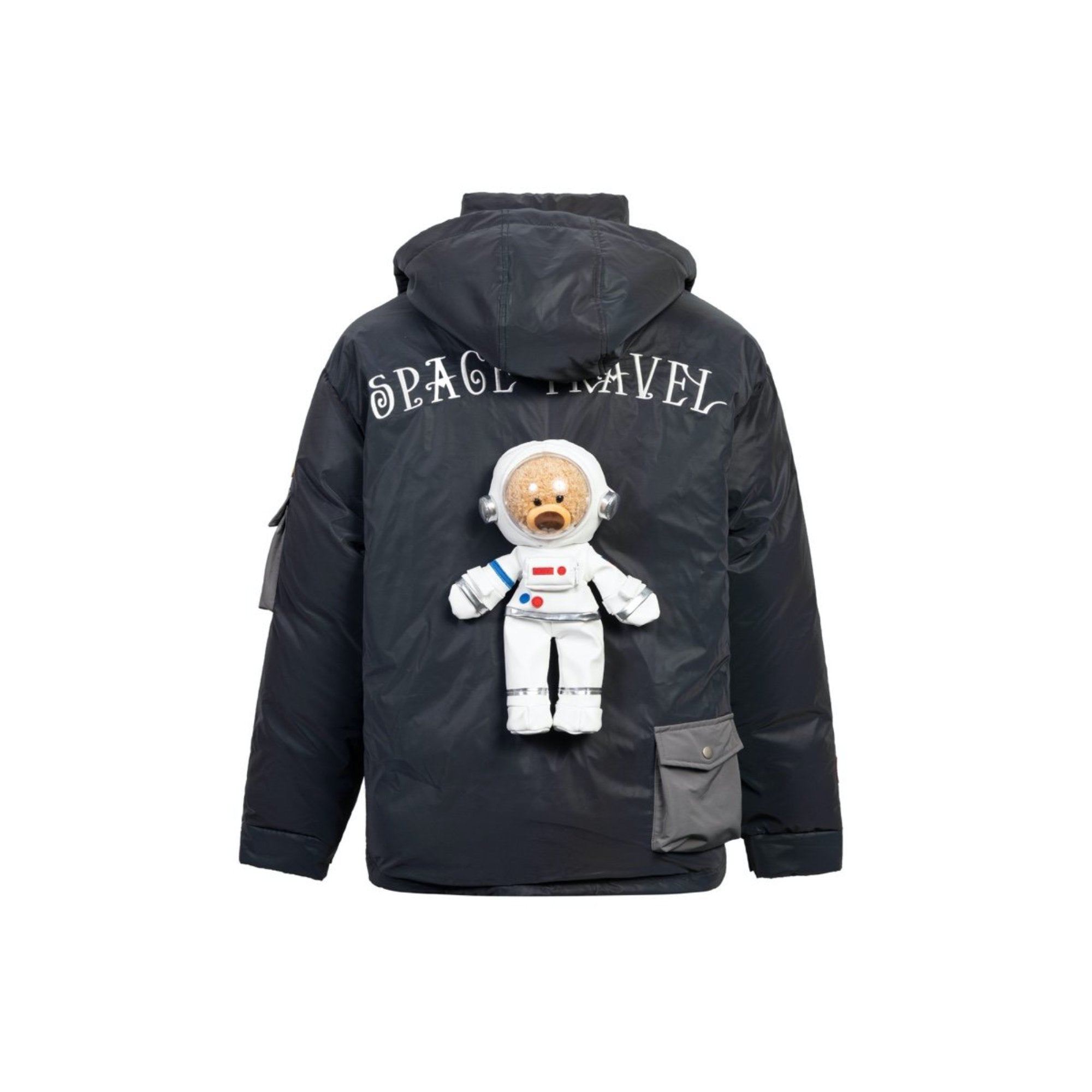 13 DE MARZO NASA Teddy Bear Down Jacket Laser | MADA IN CHINA