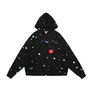 MAYHEM Nervis Black Galaxy Print Hoodie | MADA IN CHINA