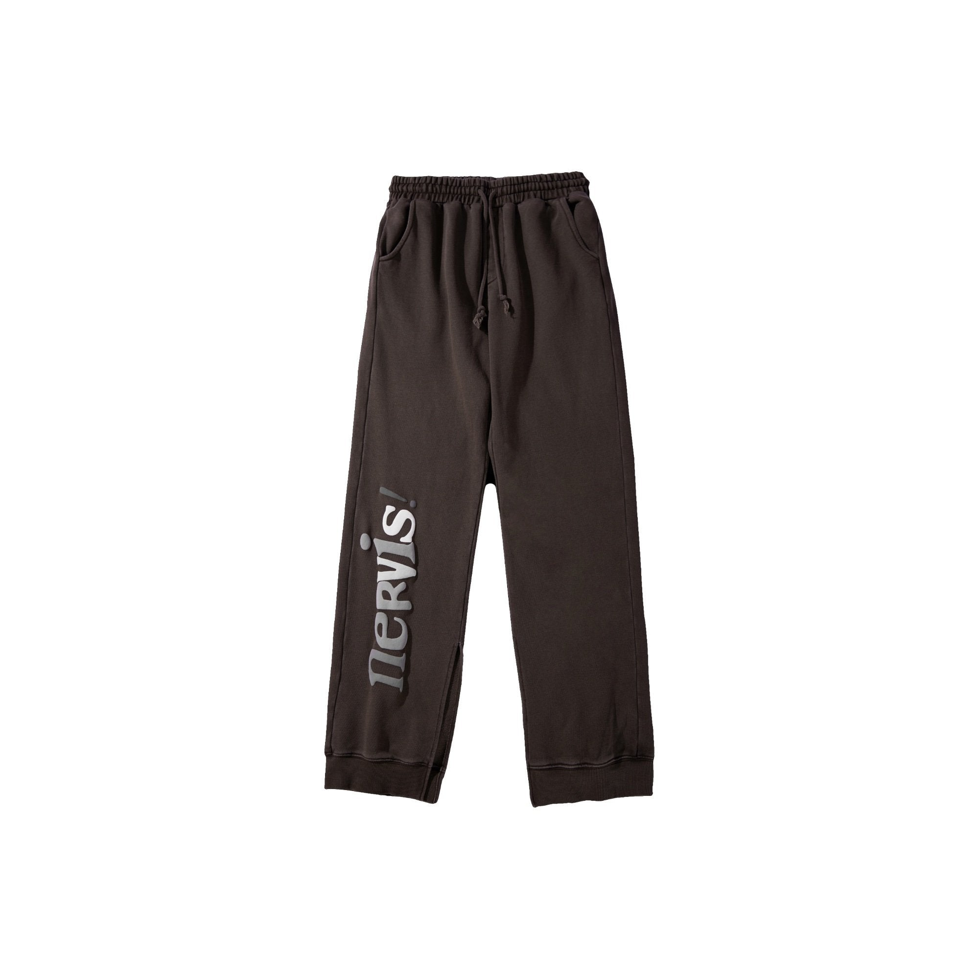MAYHEM Nervis Brown Puff-print Lounge Pants | MADA IN CHINA