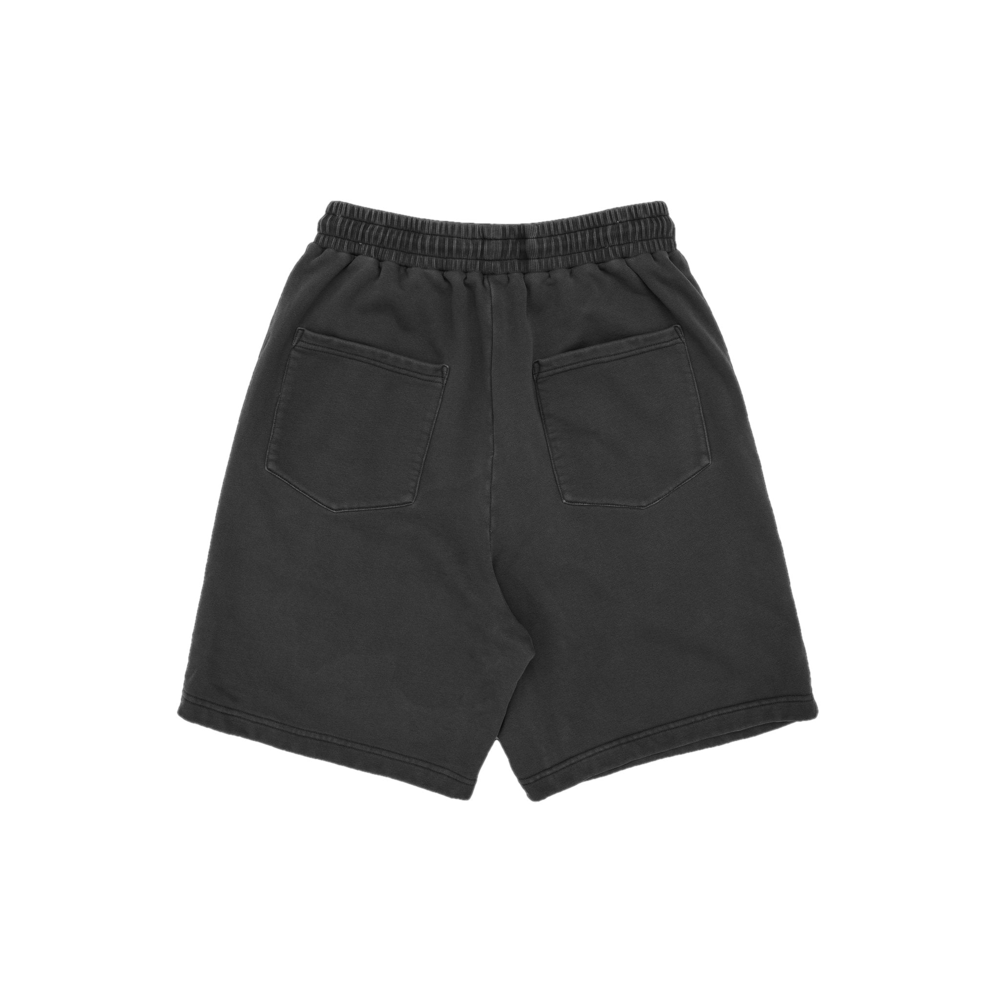 MAYHEM Nervis Dark Grey Puff-Print Short | MADA IN CHINA