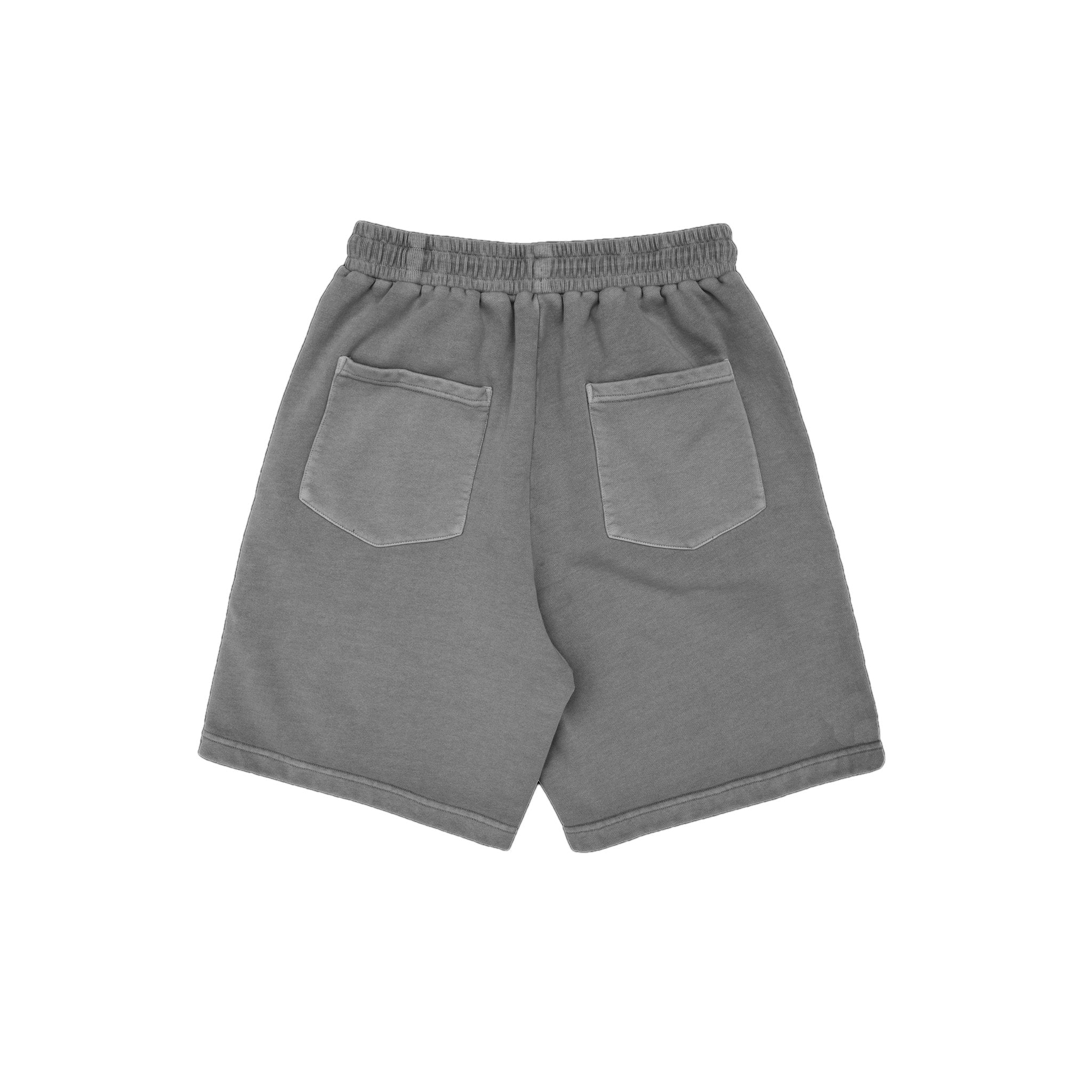 MAYHEM Nervis Light Grey Puff-Print Short | MADA IN CHINA