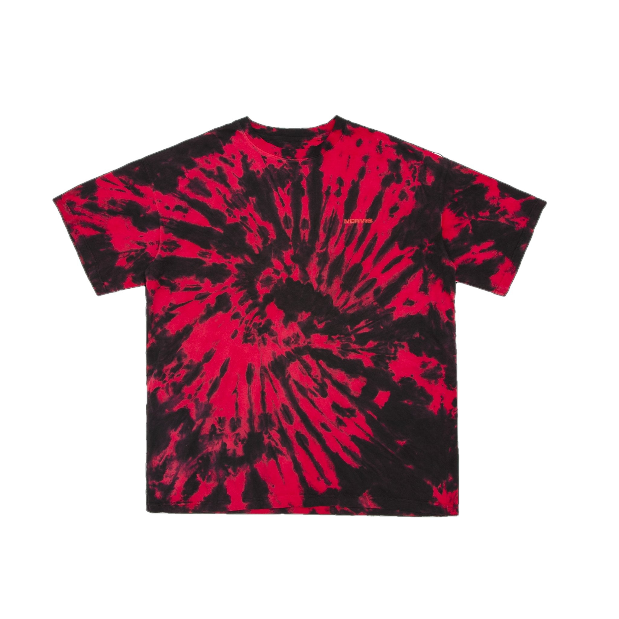 MAYHEM Nervis Red Tie-Dyed Tee | MADA IN CHINA
