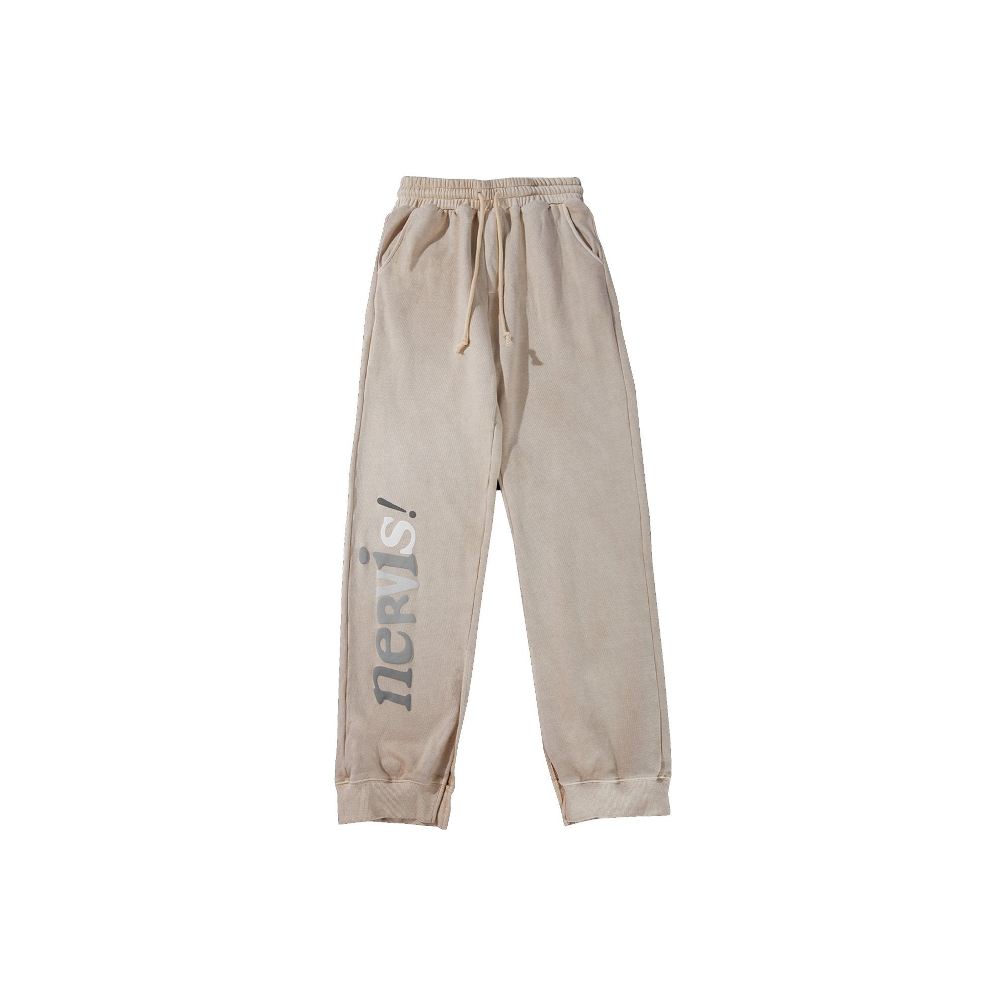 MAYHEM Nervis Tan Puff-print Lounge Pants | MADA IN CHINA