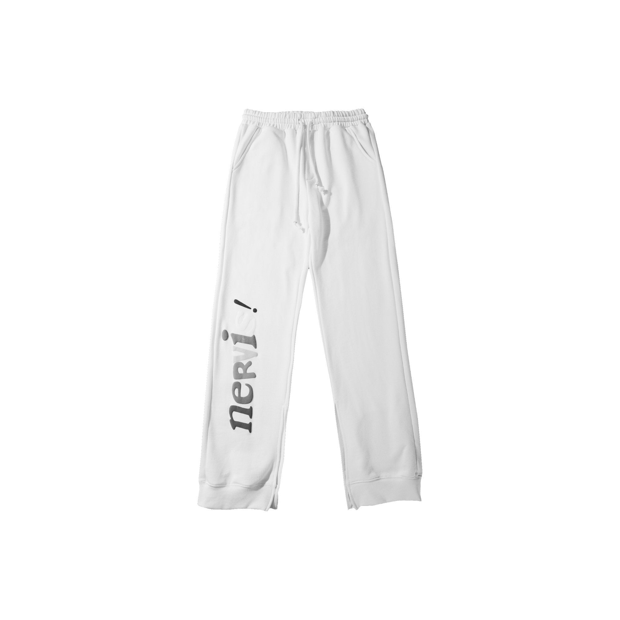 MAYHEM Nervis White Puff-print Lounge Pants | MADA IN CHINA