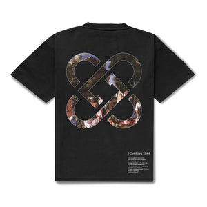 CHARLIE LUCIANO Oil Painting Logo Tee | MADA IN CHINA